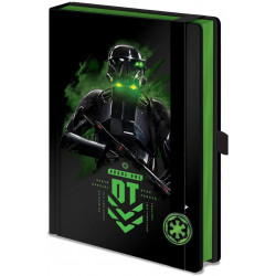 A5 Star Wars Rogue One Death Trooper Notebook