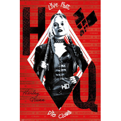 The Suicide Squad Harley Maxi Poster