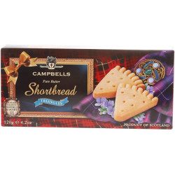 Campbell's Shortbread - 120g Triangles Shaped Carton