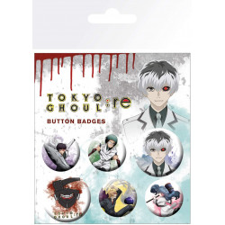 Tokyo Ghoul : Re button badge pack