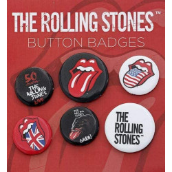 The Rolling Stones, Lips, Badge Pack