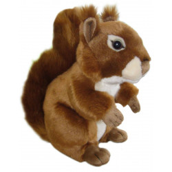 """12"""" Red Squirrel Plush Toy"""