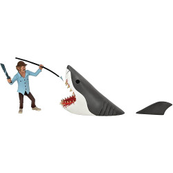 JAWS TOONY Terrors JAWS & Quint 6IN Action Figure