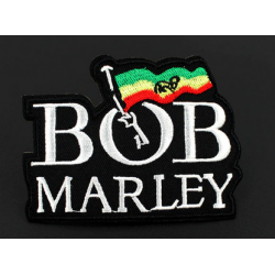 Bob Marley Iron or Sew on Patch