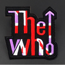 The Who Iron or Sew on Patch