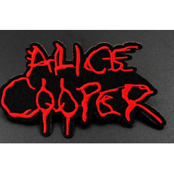 Alice Cooper Iron or Sew on Patch