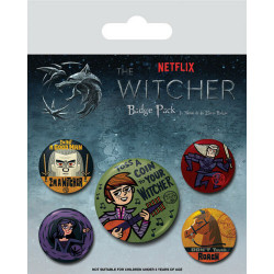 Badge Pack - The Witcher