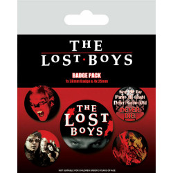 THE LOST BOYS 5 PACK OF BADGES