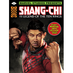 Shang-Chi and the Legend Of The Ten Rings (Kung Fu Fist) Large Canvas Print (50 x 80cm, 1.5cm deep)