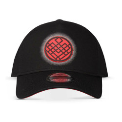Marvel Shang-Chi And The Legend Of The Ten Rings Crest Logo Adjustable Baseball