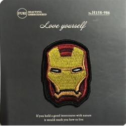 Iron Man or Sew on Patch