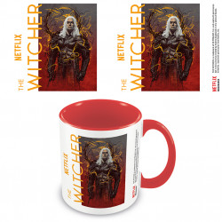 The Witcher (Geralt The Wolf) Red Coloured Inner Mug