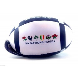 Scottish Six Nations Soft Mini Rugby Ball PVC Great For Kids