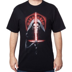Kylo Wren New Force Mens T-Shirt - Black Large