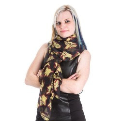 Pokemon Pikachu Scarf (Medium, Black)