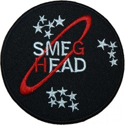Smeg Head Red Dwarf Iron On Fabric Patch