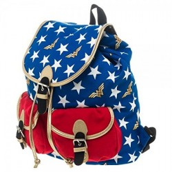 Wonder Woman Knapsack Backpack bag - Official