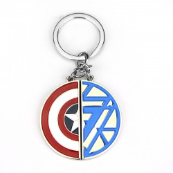 Civil War metal Keyring