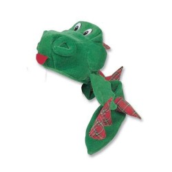 Fun Nessie Hat and Tail Red Tartan
