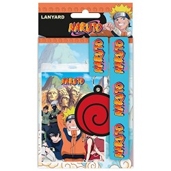 "GB eye ""Naruto, Logo"" Lanyard, Multi-Colour"