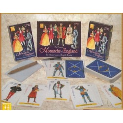 Heritage Playing Cards - Monarchs of England Game (Travel Size)