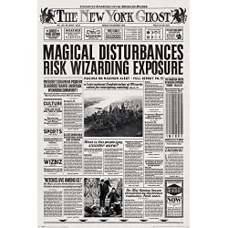 Fantastic Beasts The New York Ghost Maxi Poster, multicolour