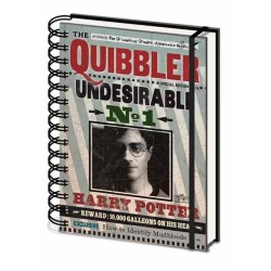 Harry Potter The Quibbler A5 Hardback Notebook