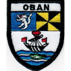 Oban Embroidered Patch