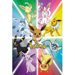 GB eye Pokemon Eevee Evolution, Maxi Poster, Various
