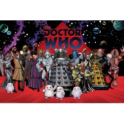 GB eye Doctor Who, Compilation, Maxi Poster 61x91.5cm, Various