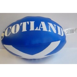 Scottish Soft Mini Rugby Ball With Saltire Design PVC Great For Kids