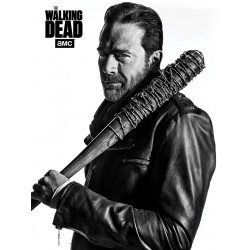 The Walking Dead (Negan) Canvas Print 60 x 80cm