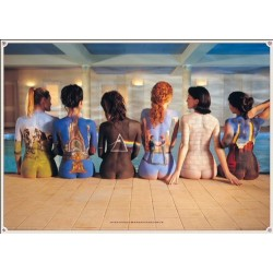 Pink Floyd Back Catalogue Maxi Poster, Multi-Colour