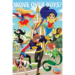 DC Super Hero Girls Move Over Boys Maxi Poster, multicolour