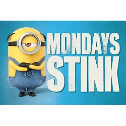 Poster Despicable Me 3 - Mondays Stink - 91.5 x 61 cm