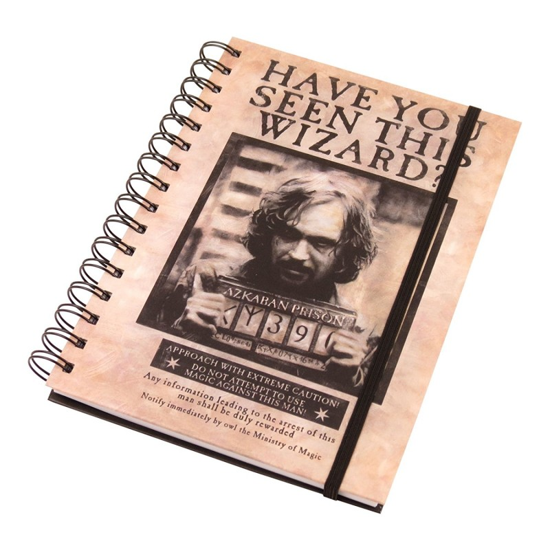 """Harry Potter """"Wanted Sirius Black"""" A5 Notebook"""