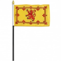 Lion Rampant 6 x 9 inches