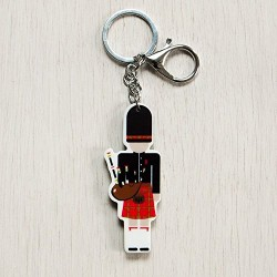 Scottish Piper Keyring