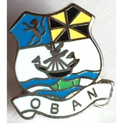 Oban Pin Badge