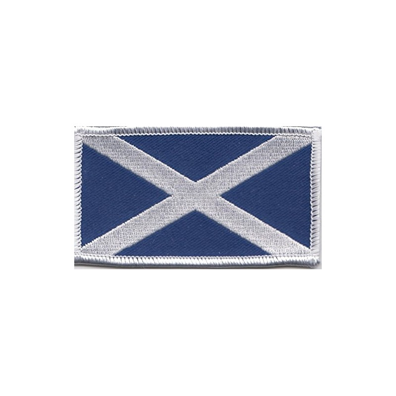 Scottish Saltire Patch 6.5cm x 3.5cm