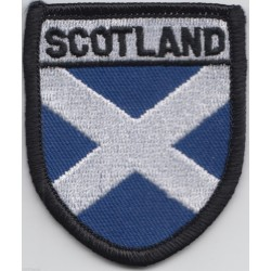 Scottish Saltire Shield Patch