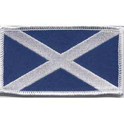 Scottish Saltire Patch Small  4.5cm x 2.5cm