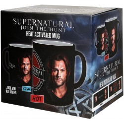 Supernatural Sam and Dean - With Thermal Effect Mug multicolour