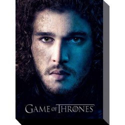 Game Of Thrones (Season 3 - Jon) Canvas - 60 x 80cm