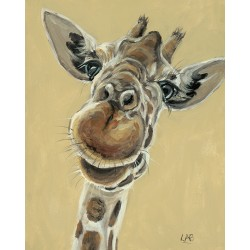 "Louise Brown ""Hey You Down There"" Canvas Prints, Multi-Colour 40 x 50 cm"