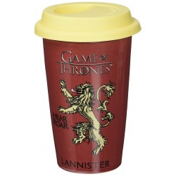 Game Of Thrones House Lannister Travel Mug, Multi-Colour