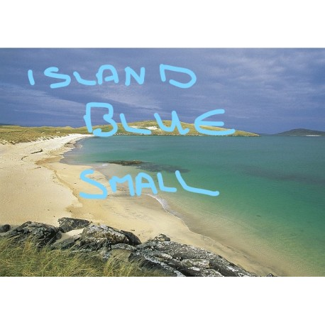 Postcard Island Blue Small