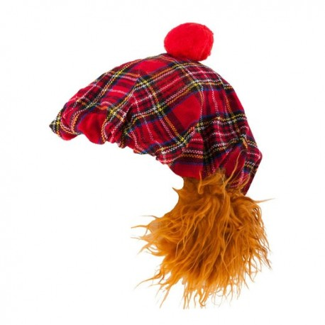Scottish gift's - TARTAN THE BUNNET SEE YOU JIMMY HAT ROYAL STEWART - uk gift's