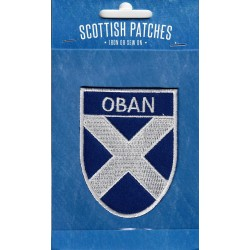 Oban Embroidered Saltire Patch