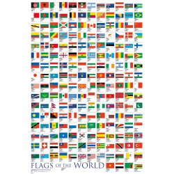 GB Eye LTD, Flags, Of the World 2017, Maxi Poster 61x91.5 cm